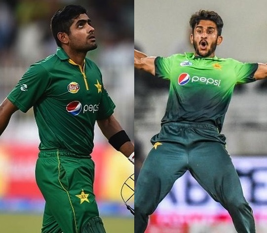 Babar Azam and Hasan Ali included in ICC's ODI Team of the Year (2017)