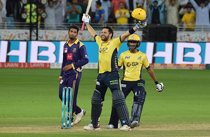 Shahid Afridi announces he's leaving Peshawar Zalmi for personal reasons