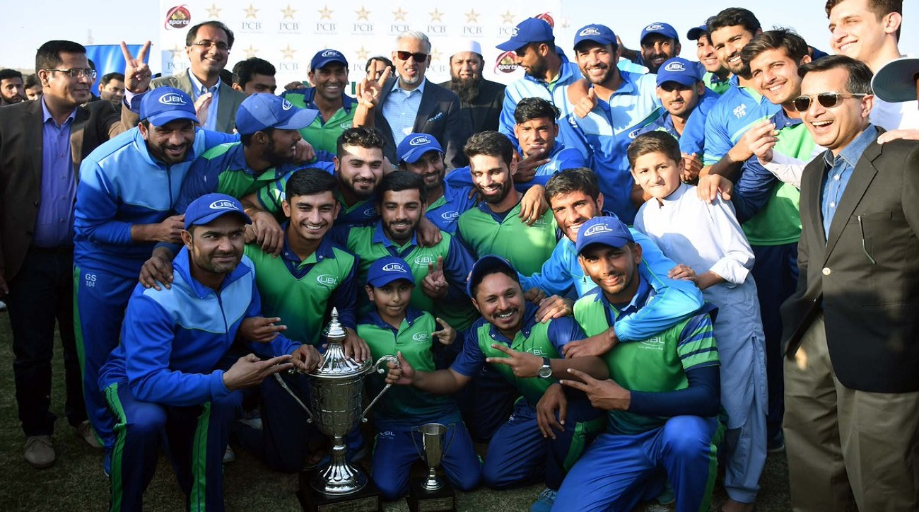 UBL defeat WAPDA by 6 wickets to win the Departmental One-Day Cup