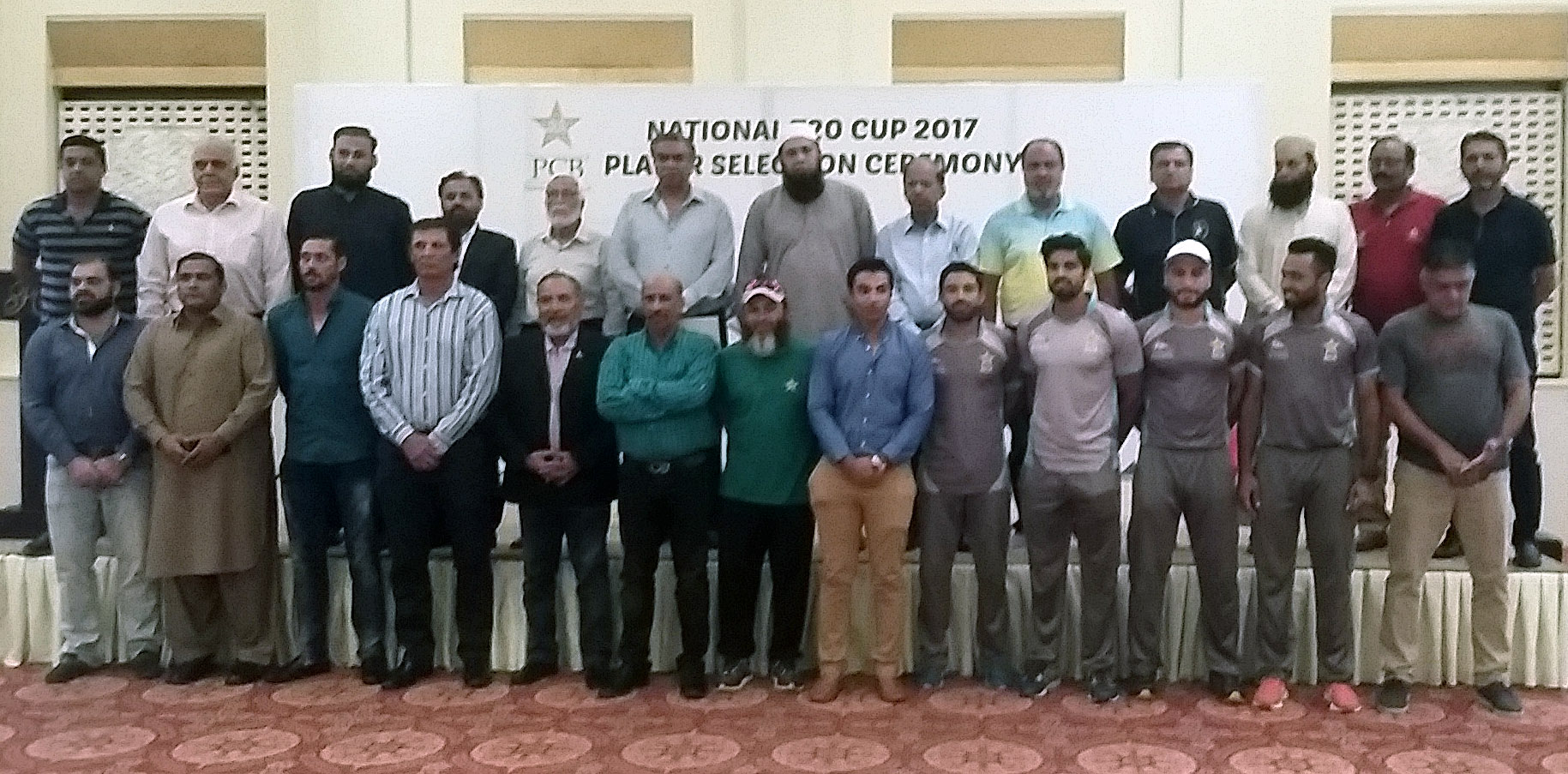 National T20 Cup 2017 squads and schedule announced