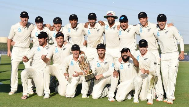 New Zealand defeat Pakistan in the 3rd Test by 123 runs to win series 2-1