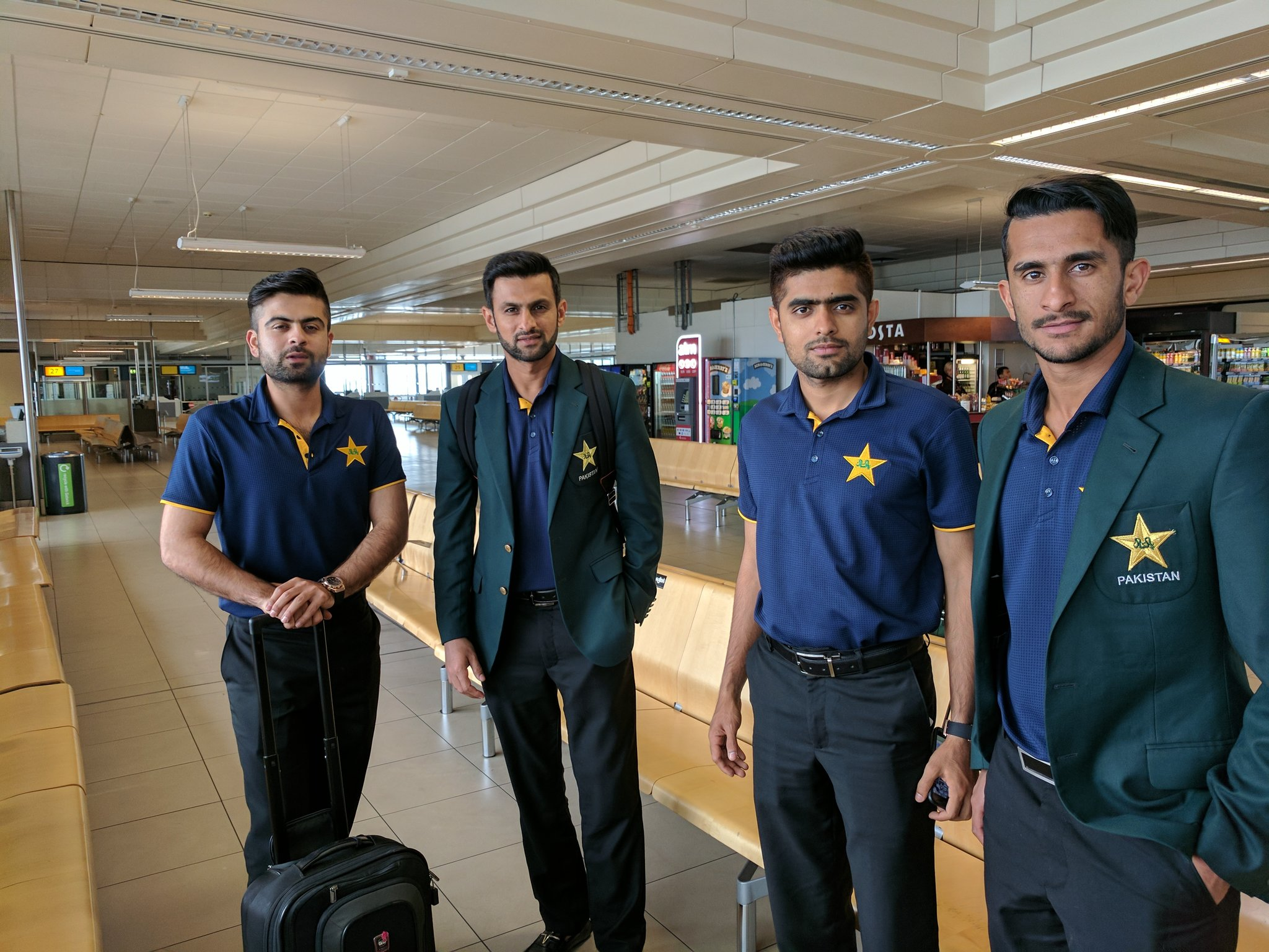 Pakistan Twenty20 squad departs for the tour of the West Indies