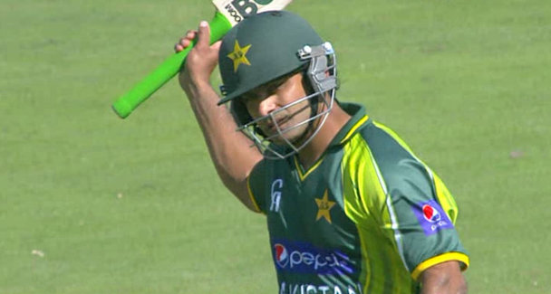 Mohammed Hafeez signals return to form with a well composed 100 in 1st ODI against Ireland