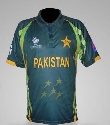 New Pakistan kit for the Champions Trophy 2013 announced