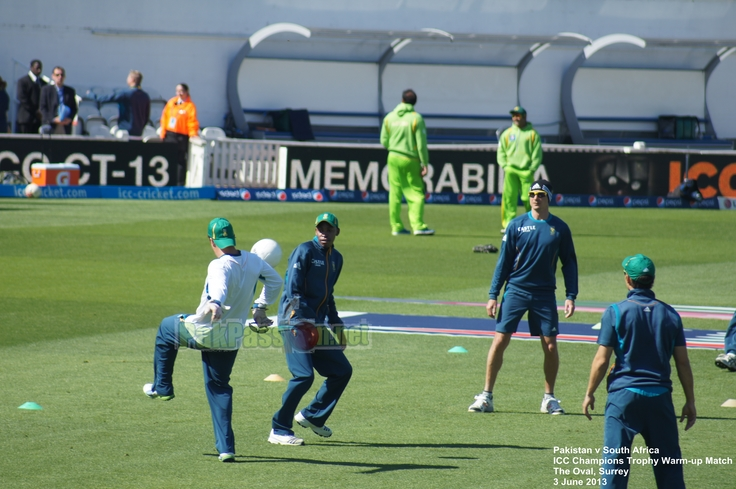 Pakistan vs South Africa warm-up game