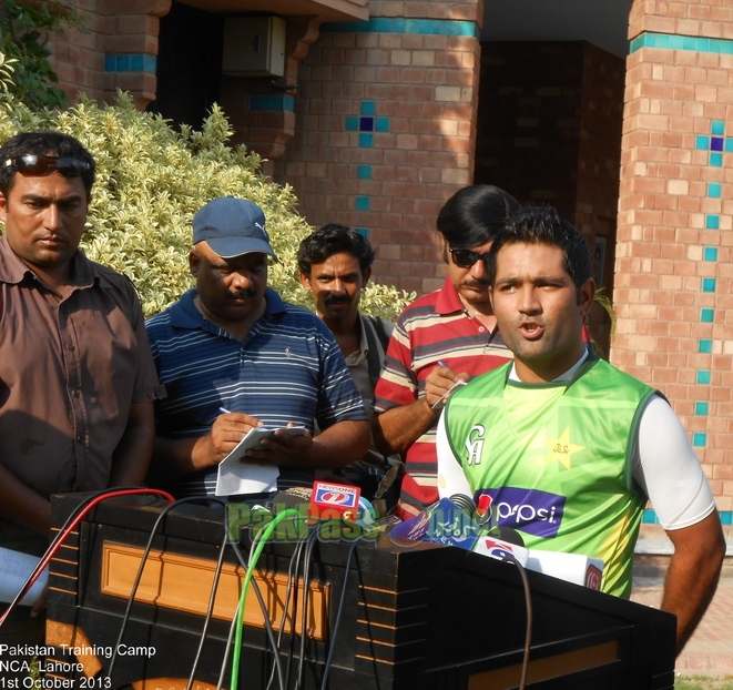 Pakistan Training Camp, NCA, Lahore