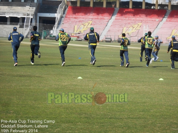 Pre-Asia Cup Training Camp