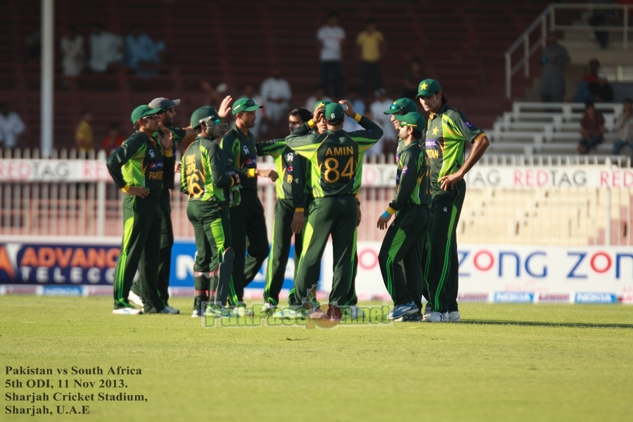 Pakistan vs South Africa, 5th ODI, Sharjah