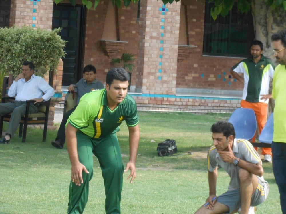 Fitness Test, National Cricket Academy (NCA), Lahore