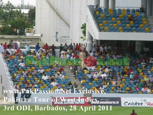 West Indies vs Pakistan | 3rd ODI | Barbados | 28 April 2011