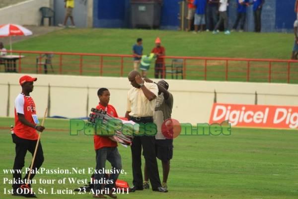 West Indies vs Pakistan | 1st ODI | St. Lucia | 23 April 2011