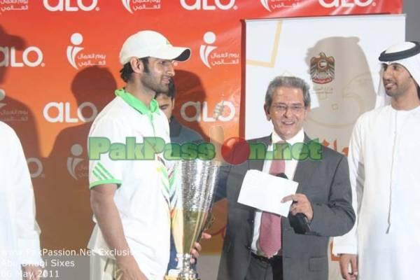 Abu Dhabi Sixes Tournament | Sheik Zayed Stadium | 06 May 2011