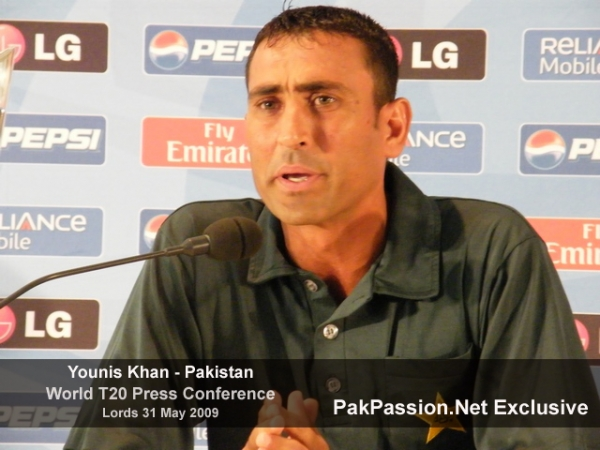 Younis Khan at Lords Press Conference