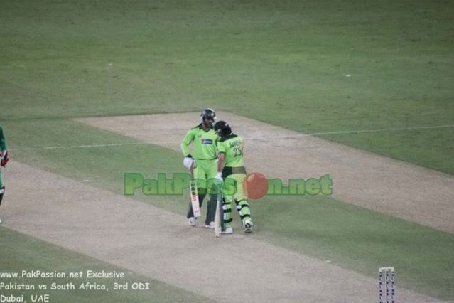 Abdul Razzaq and Fawad Alam