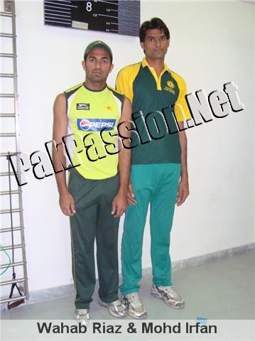 Wahab Riaz & Mohammad Irfan