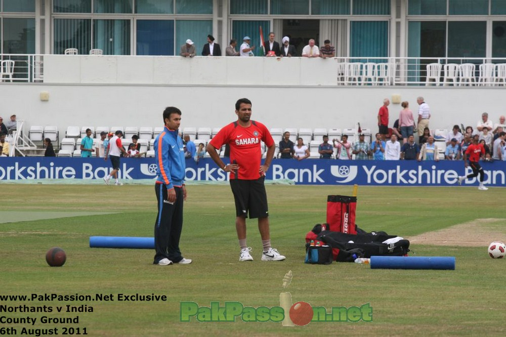Northants vs. India Day 2 | County Ground | August 6th, 2011