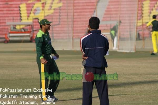 Pakistan Training Camp