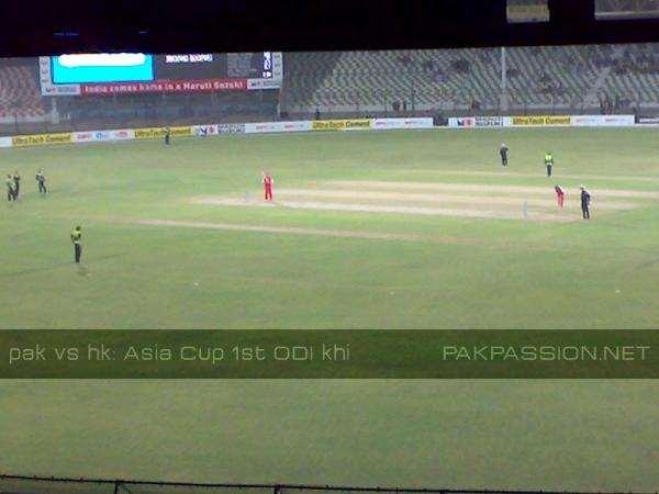 Pakistan v Hong Kong - Asia Cup 2008