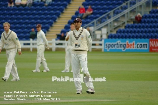 Younis Khan Surrey Debut