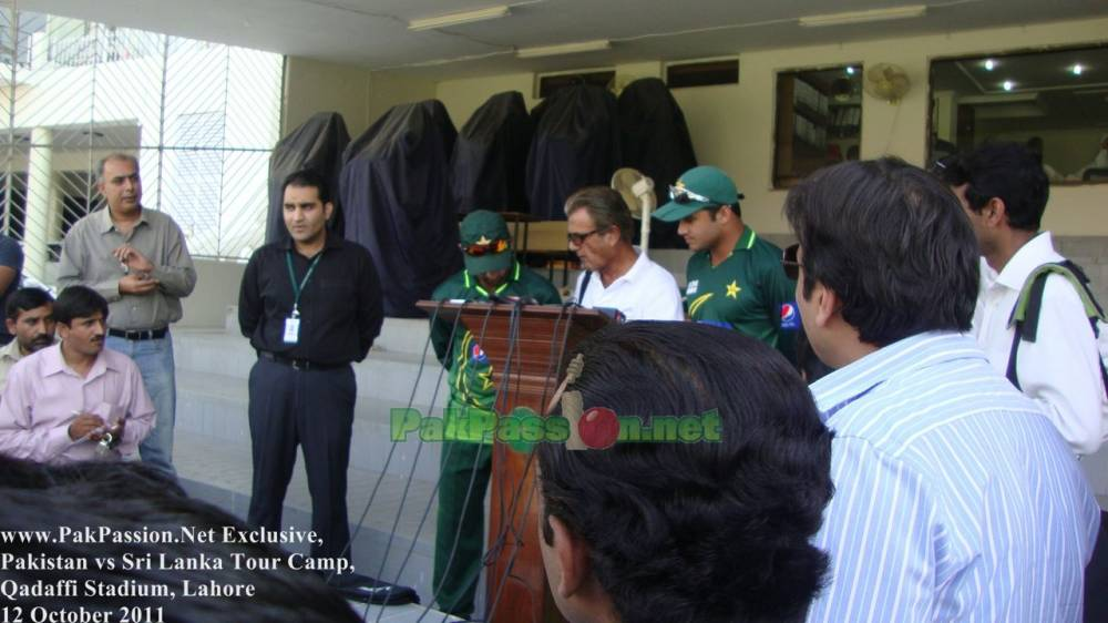 Pakistan Pre-Series Camp