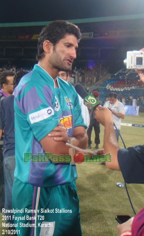 Captain Sohail Tanvir speaks after the Rams lose against the Stallions