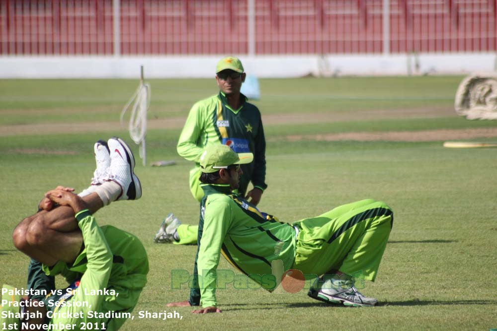 Sharjah Practice Session