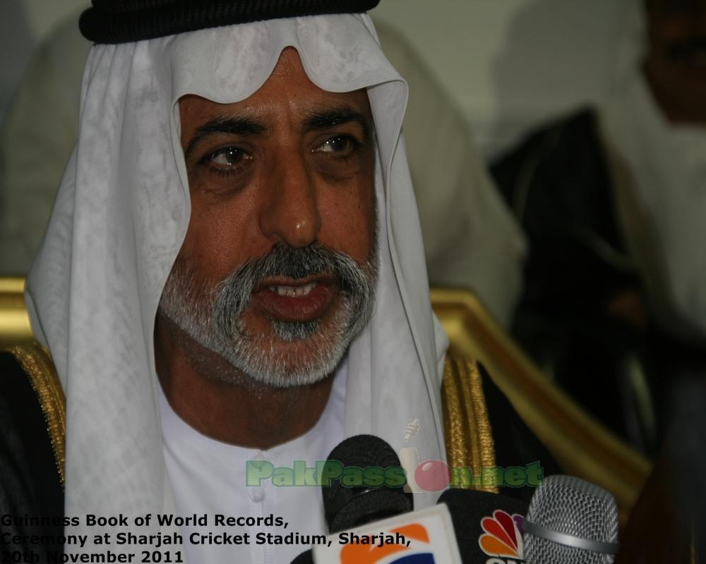His Highness Sheikh Nahyan bin Mubarak Al Nahyan