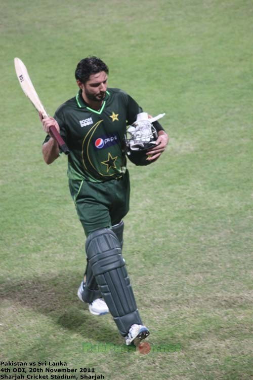 BoomBoom Afridi after his match-winning knock