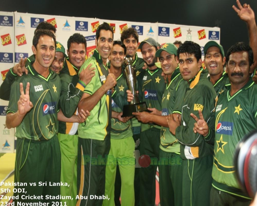Pakistan vs Sri Lanka - Only T20 at Abu Dhabi