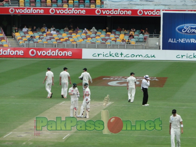 Australlia vs NZ at Gabba.