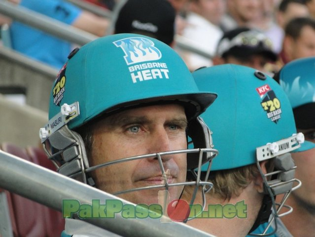 Big Bash: Brisbane Heat Vs Hobart Hurricane: 6th Jan 2012