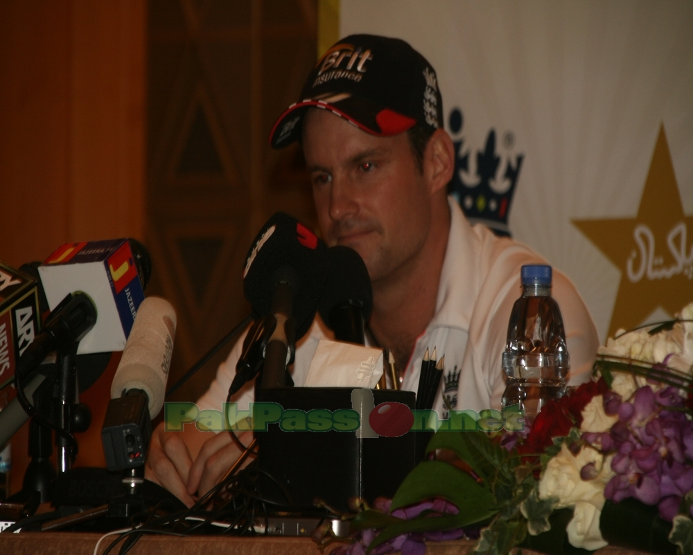 Andrew Strauss Press Conference