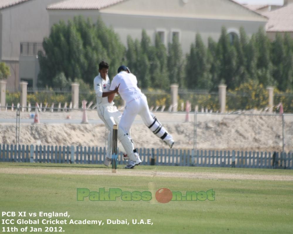 Pakistan Cricket Board XI v England XI   Tour Match   Dubai   Jan 11-13  