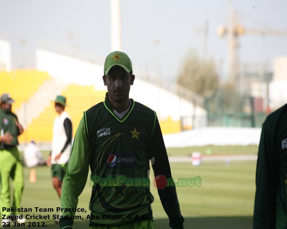 Pakistan's Training Session at Shiekh Zayed Stadium | Abu Dhabi | 23 Januar