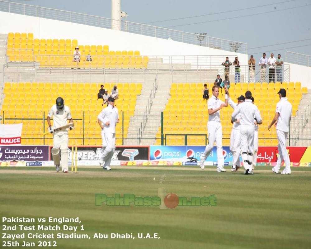 Day 1 | Shiekh Zayed Stadium | Abu Dhabi |