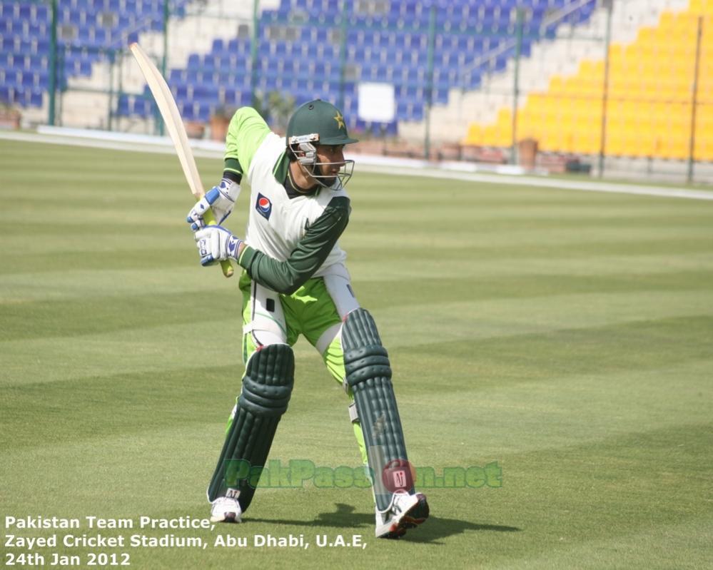 Pakistan's Training Session at Shiekh Zayed Stadium | Abu Dhabi | 24 Januar