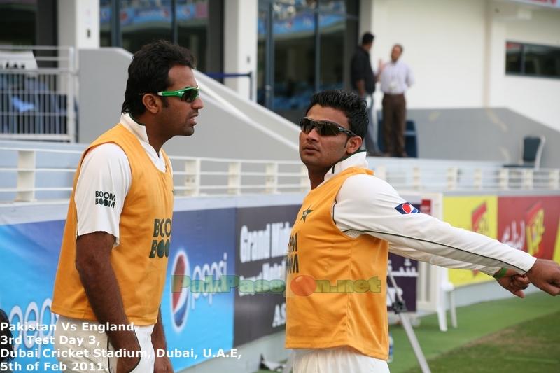 Wahab Riaz and Imran Farhat