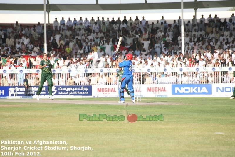 Pakistan vs Afghanistan | One Day International | 10 Feb 2012 | Sharjah