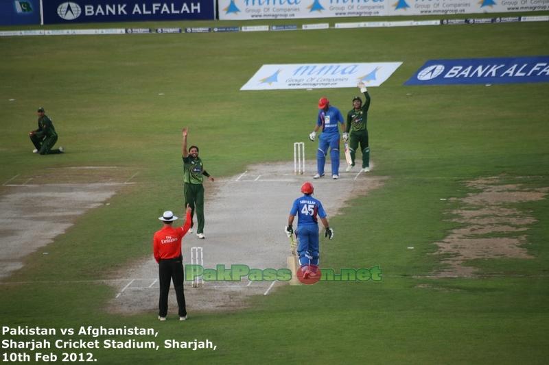 Pakistan vs Afghanistan   One Day International   10 Feb 2012   Sharjah