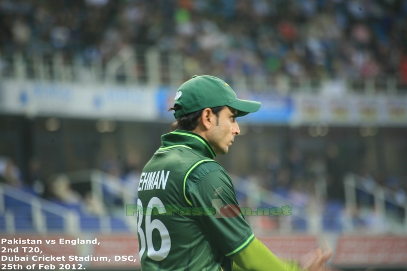 Abdur Rehman in the outfield