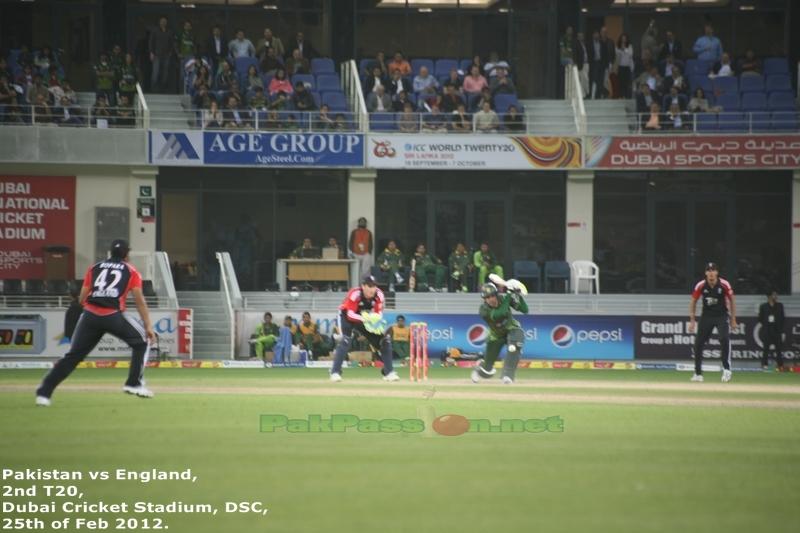 Hammad Azam batting