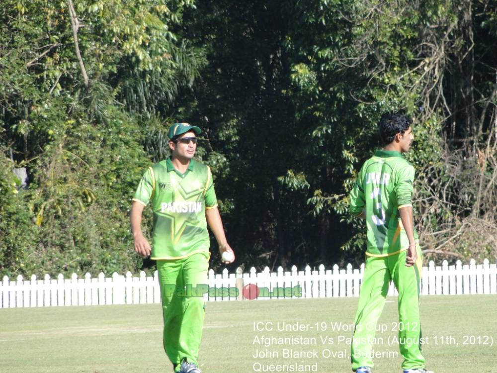 Pakistan U-19 vs Afghan