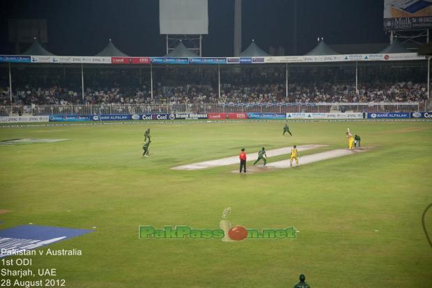 Pakistan vs Australia 1st ODI 2012