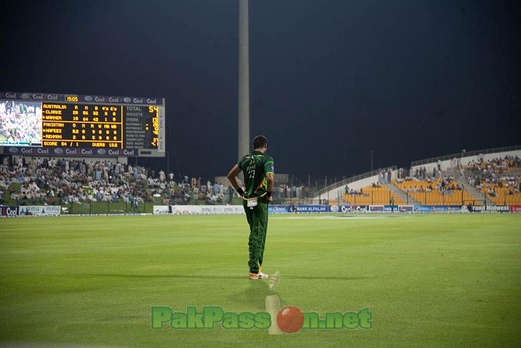 Australia v Pakistan at Sharjah