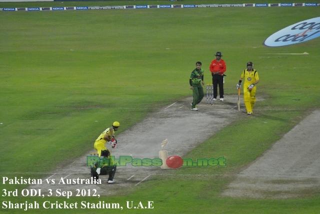 Pakistan vs Australia 3rd ODI 2012