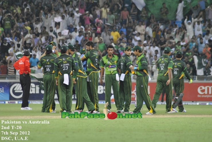 Pakistan vs Australia 2nd T20 Dubai