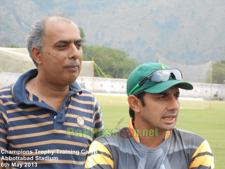 Nadeem Sarwar and Junaid Khan