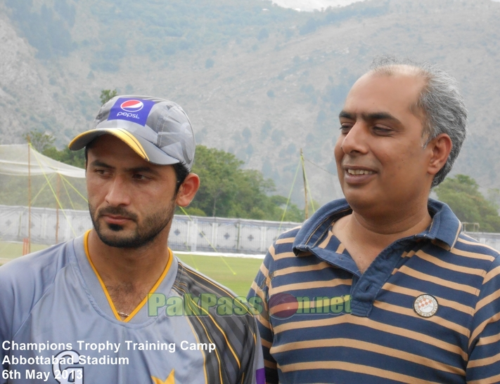 Nadeem Sarwar and Junaid Khan