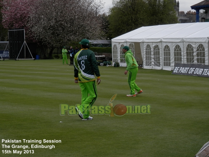 Pakistan Training Session