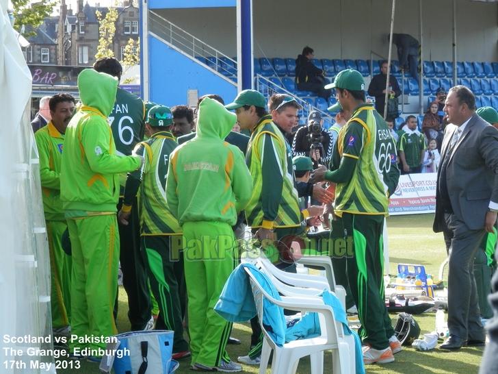 1st ODI - Scotland vs Pakistan